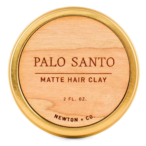 Palo Santo Matte Hair Clay — Newton + Co