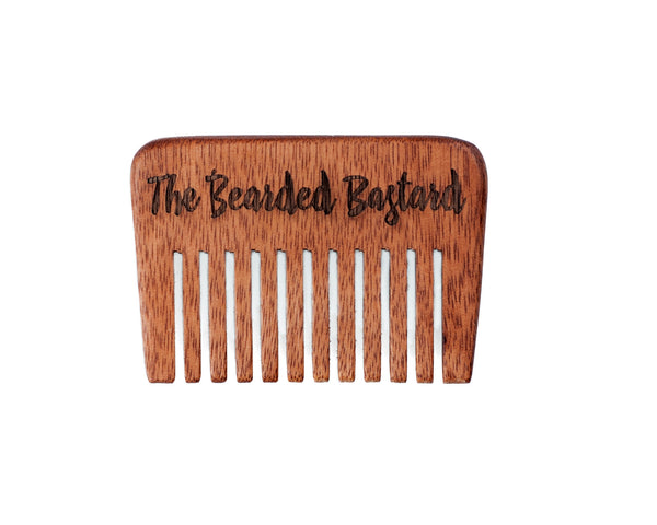 The Bearded Bastard Beard Comb