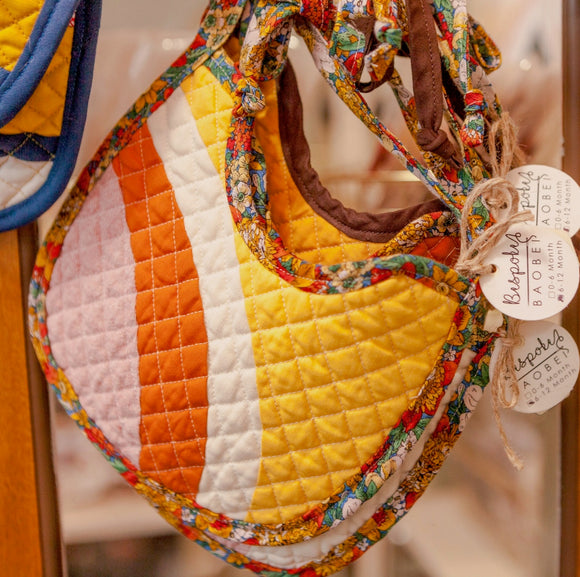 Traditional Quilted Bibs