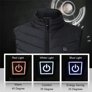 "Unisex Warming Heated Vest - ""Best Christmas Gift"""
