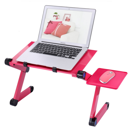 Comfort Laptop Desk (Free Mouse Pad Included)