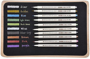STA Metallic Marker Set