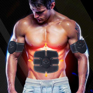 EMS WIRELESS ABS STIMULATOR TRAINER ABDOMINAL MUSCLE STIMULATOR