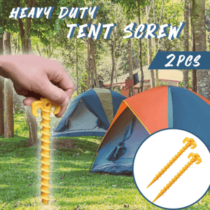 Heavy Duty Tent Screw (2 pcs)