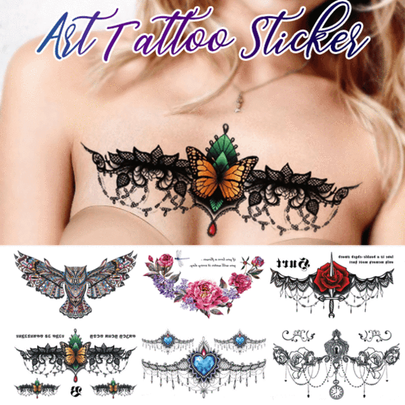 Waterproof Art Tattoo Sticker