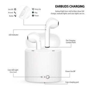 Deluxe Wireless Earphone with Case (60%OFF)