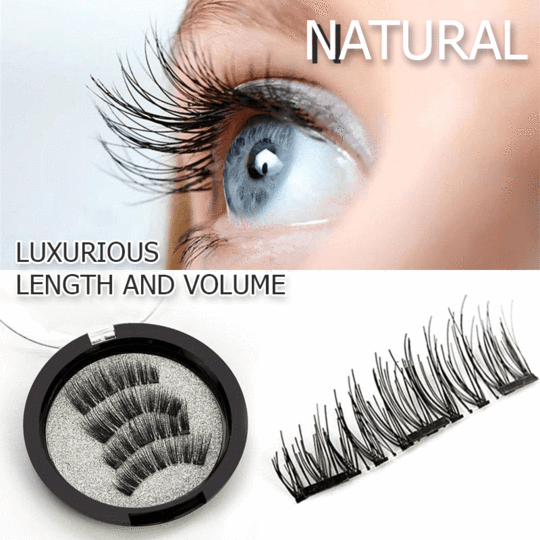 3D Magnetic Eyelashes Set (4pcs)