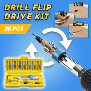 Drill Flip Drive Kit (Set of 20)