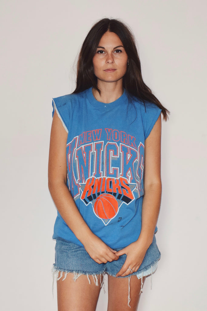 New York Knicks Cutoff Tee