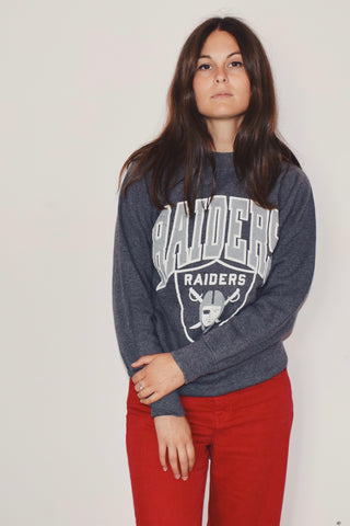 Raiders Grey Sweatshirt