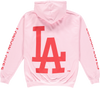 LIMITED EDITION: LOLA X DODGERS HOODIE IN PINK