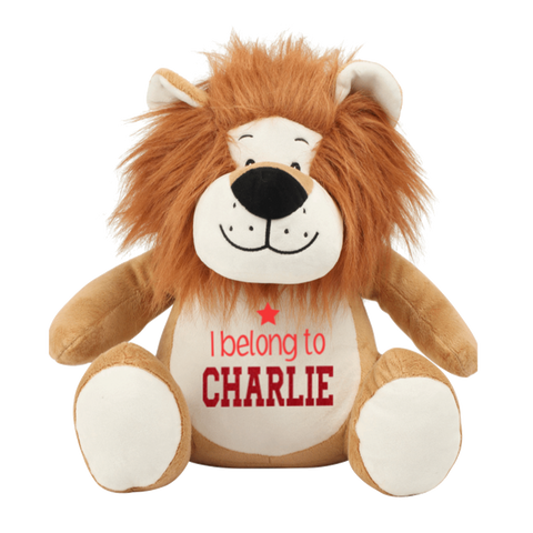 Personalised Lion Teddy Rachel J Designs