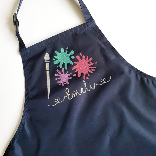 Personalised Childrens Art Apron