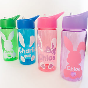 Personalised Easter Bunny Children's Water Bottle
