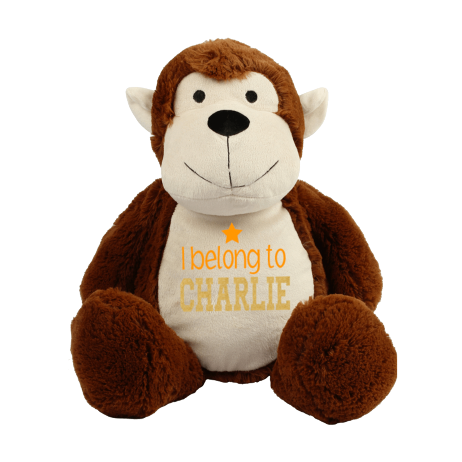 Personalised Monkey Teddy Rachel J Designs