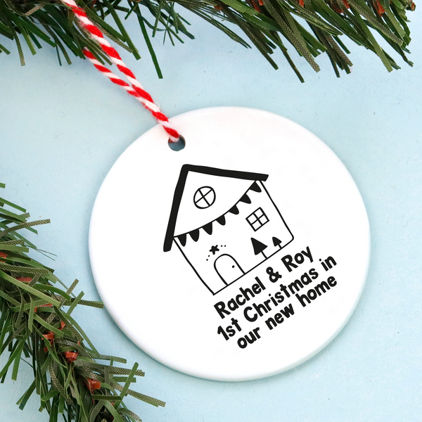 New Home Personalised Christmas Decoration