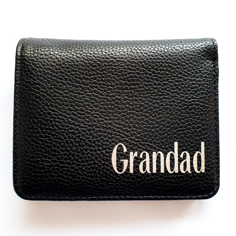 Personalised Mens Wallet Rachel J Designs