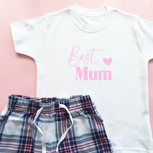 Best Mum Mothers Day Pyjamas Rachel J Designs
