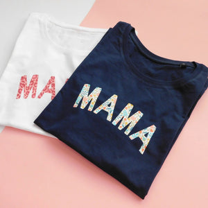 Patterned Print Mama Organic Cotton Tshirt, Clothing, Rachel J Designs