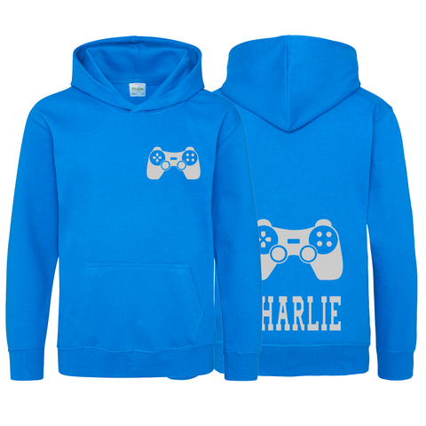 Personalised Children's Game Controller Hoodie