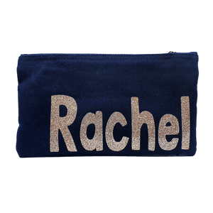 Personalised Glitter Named Pencil Case