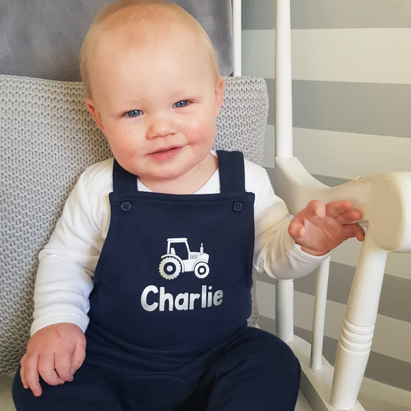 Personalised Children's Dungarees (unisex, other colours available), Clothing, Rachel J Designs