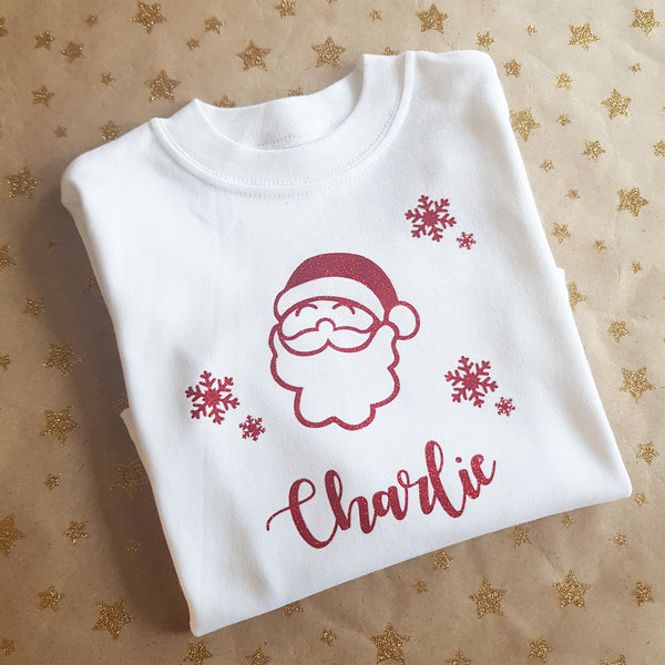 Personalised Christmas Toddler/Childs Top (Unisex), christmas, Rachel J Designs