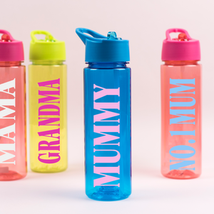 Mama, Mum, Grandma Water Bottle Rachel J Designs