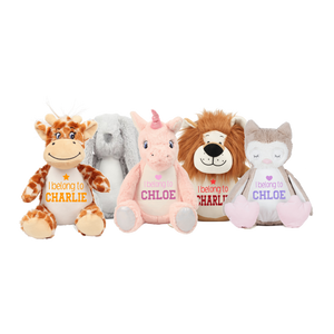 Personalised Mini Teddies Rachel J Designs