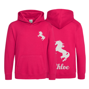 Personalised Children's Unicorn Hoodie