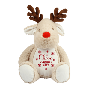 Personalised Santa Bear - Snowflake Christmas 2020