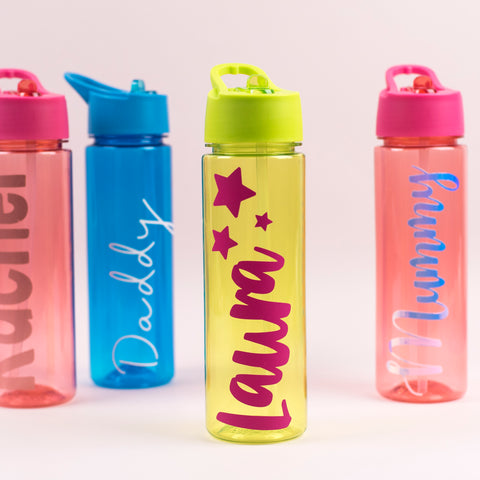Personalised Adults/Teenager Water Bottle, Water Bottle, Rachel J Designs