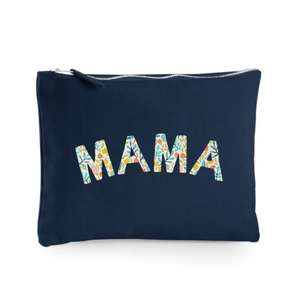 Mama Pouch/ Make up Bag/ Pencil Case