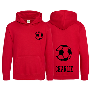 Personalised Children's Football Hoodie