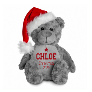 Santa Bear - Christmas 2020 Rachel J Designs