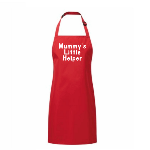 Mummy's Little Helper Childrens Apron (Can be changed to any name)