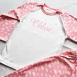 Personalised Pink Cloud Pyjamas