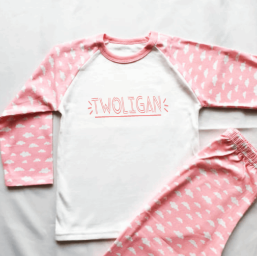 Twoligan Pink Cloud Pyjamas
