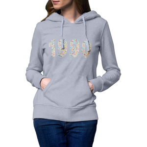 Ladies Personalised Year Hoodie Rachel J Designs