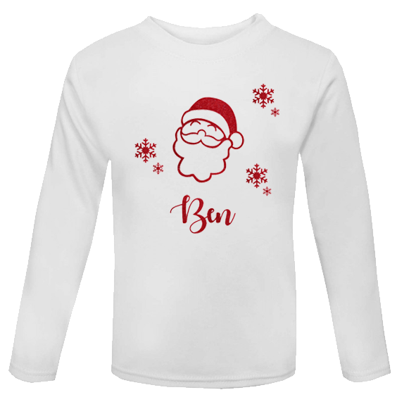Personalised Christmas Toddler/Childs Top (Unisex)