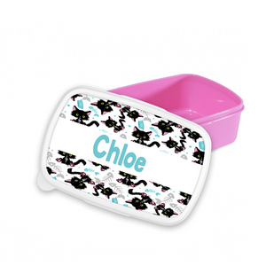 Personalised Cat Snack/Sandwich Box