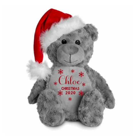 Personalised Santa Bear Rachel J Designs