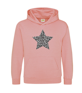 Children's Star Hoodie Matching Adults also Available
