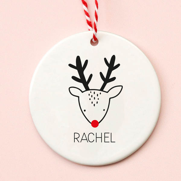 Cute Reindeer Christmas Decoration