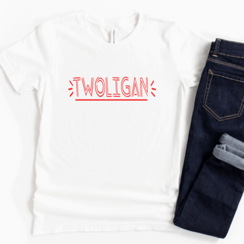 Twoligan Tshirt Rachel J Designs
