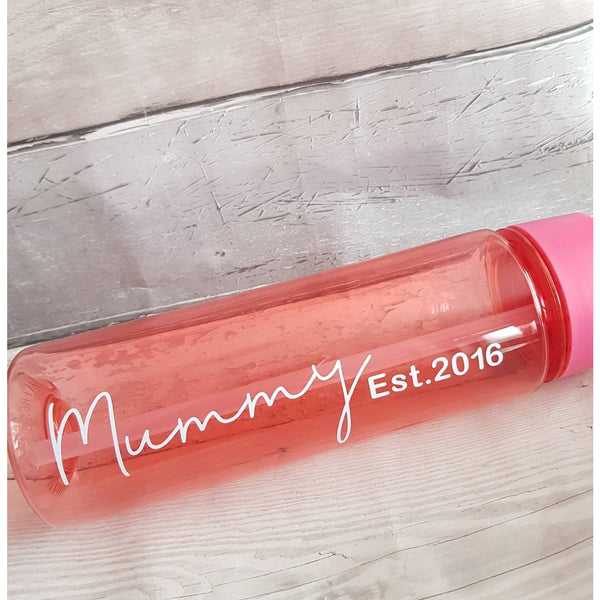 Mummy Water Bottle, Water Bottle, Rachel J Designs