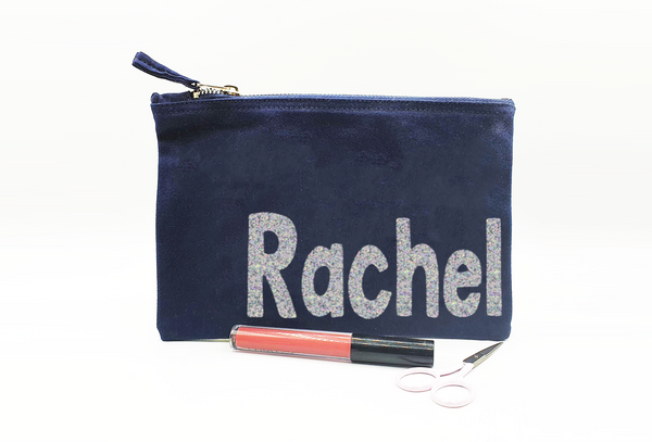 Personalised Pouch/ Make up Bag/ Pencil Case