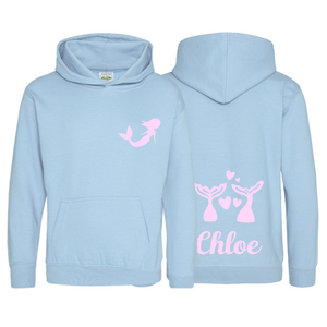 Personalised Children's Mermaid Hoodie