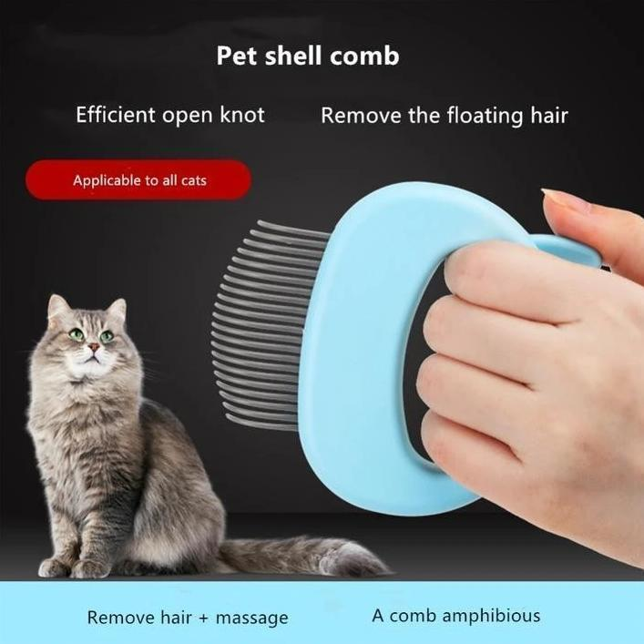 MASSAGE & GROOMING PLEASURE FOR YOUR CAT
