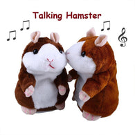 Cute Talking Hamster Soft Toy